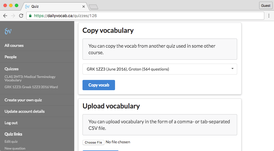 screenshot of copy-vocab-segment